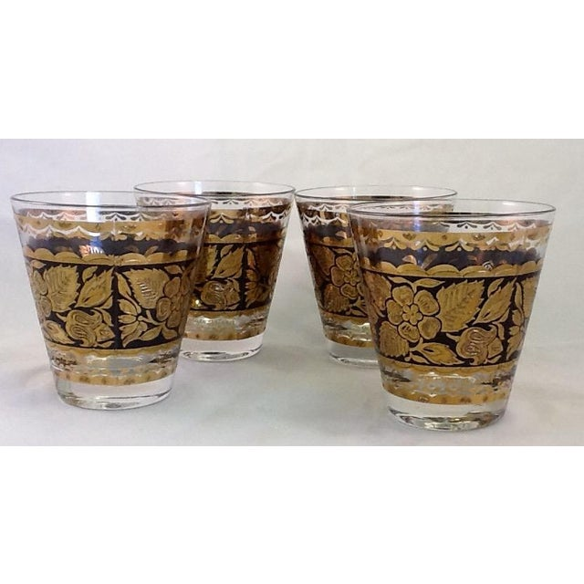 Georges Briard Lowball Glasses - Set of 4 - Image 2 of 5