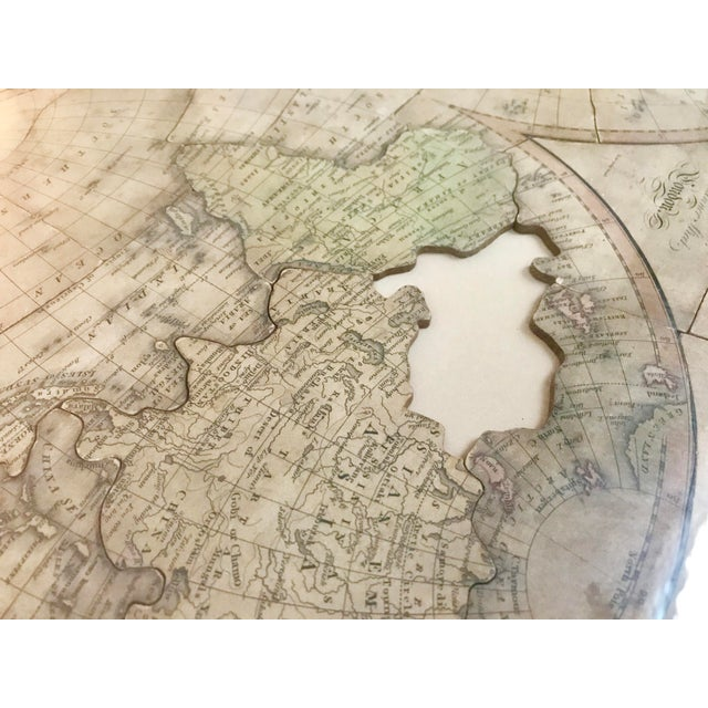 Paper John Wallis's New Dissected 1812 Puzzle World Map For Sale - Image 7 of 10