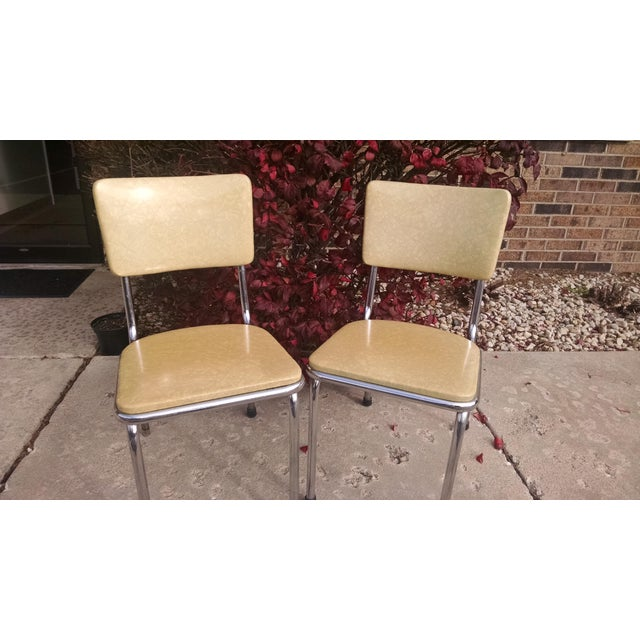Howell Vintage Chrome Chairs - A Pair - Image 6 of 6