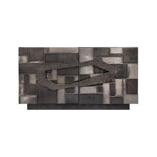 Artisanal Brutalist Style Welded Metal Sideboard