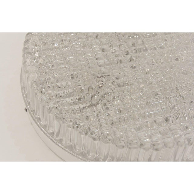 Transparent Clear Industrial Flushmount For Sale - Image 8 of 9