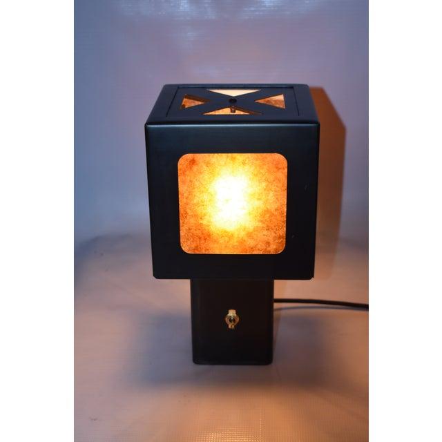 Contemporary Oblik Studio Inc Cube Lamp For Sale - Image 3 of 5