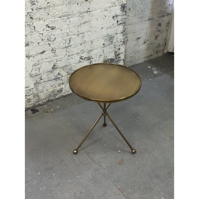 Animal Skin Folding Campaign Table For Sale - Image 7 of 8