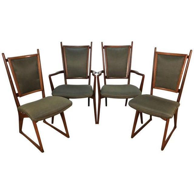 Vladimir Kagan Dining Chairs - Set of 4 For Sale - Image 10 of 10