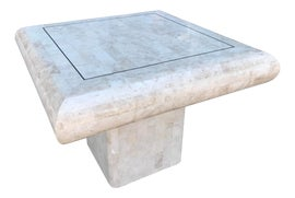 Image of Antique White Side Tables