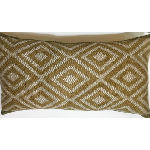 Vintage Geomtic Motif Pillows - A Pair - Image 6 of 9