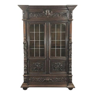 Bookcase, 19th Century French Renaissance For Sale