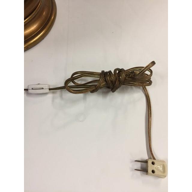 1960s Marcello Fantoni Figurative Brown Ceramic Lamp For Sale - Image 11 of 12