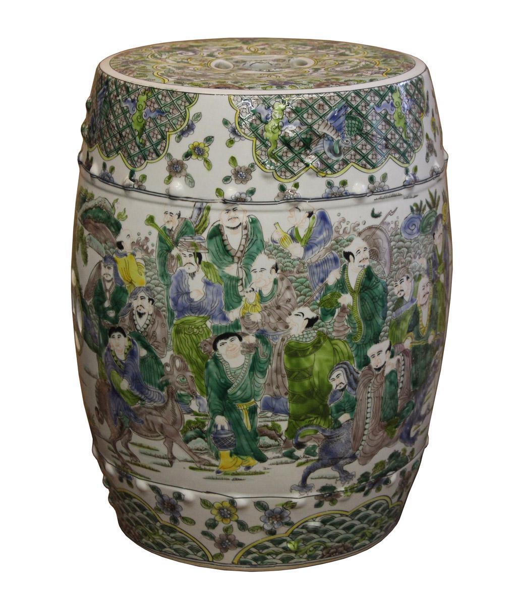 Chinese Porcelain Garden Stool Chairish