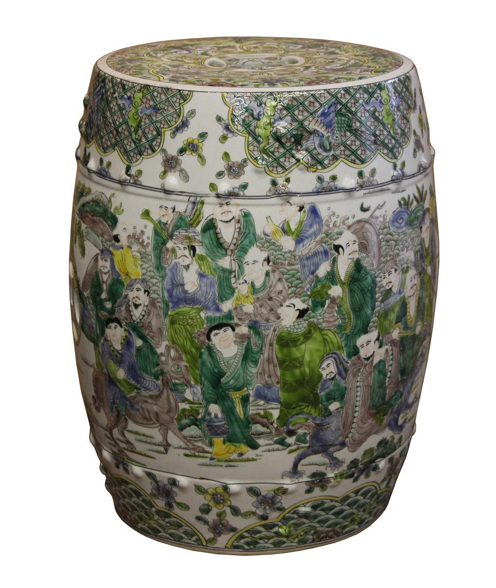 Beau Chinese Porcelain Garden Stool For Sale   Image 4 Of 7