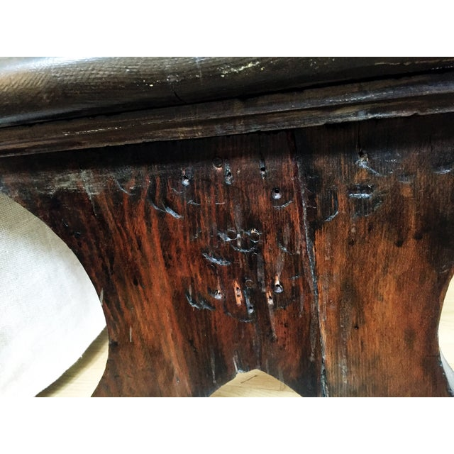 8' Distressed Monk's Bench - Image 7 of 9