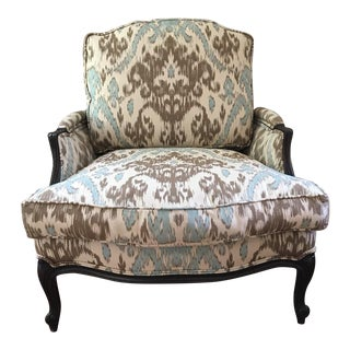 Ikat Louis XV Chair