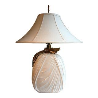1980's Chapman Ribbon Lamp