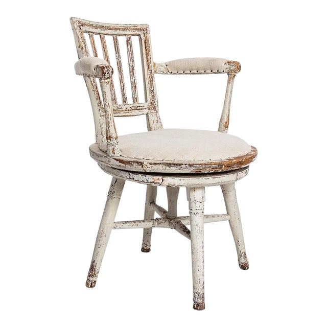 Swedish Swivel Chair - Image 1 of 5