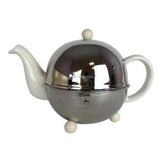 1930s Art Deco Mariage Feres Isotherm Stoneware Teapot