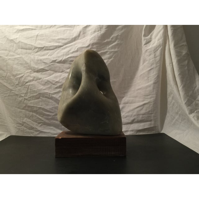 Green Marble Abstract Sculpture - Image 4 of 6