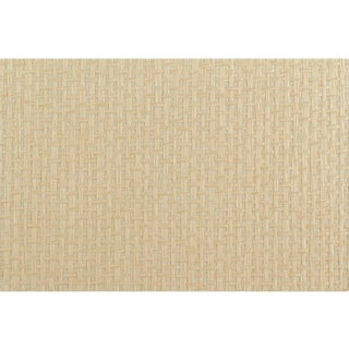 Sample, Maya Romanoff Island Weaves: Cuttlefish - Woven Jute & Paper Wallcovering For Sale