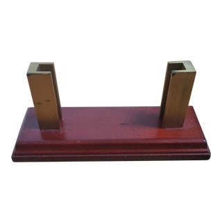 Cherry Wood Business Card Holder For Sale