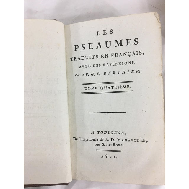 19th Century French Psalms Books - Set of 2 For Sale - Image 4 of 6