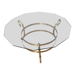 Art Deco Swan Neck Coffee Table For Sale