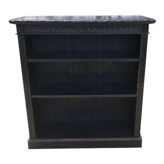 19th C. French Ebonized Bookcase