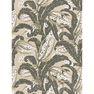 Scalamandre Tropique, Stone Fabric For Sale