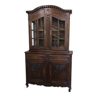 19th Century French Regence Bookcase, Vitrine
