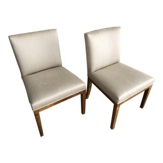 Samuel Marx Upholstered Side Chairs - a Pair For Sale