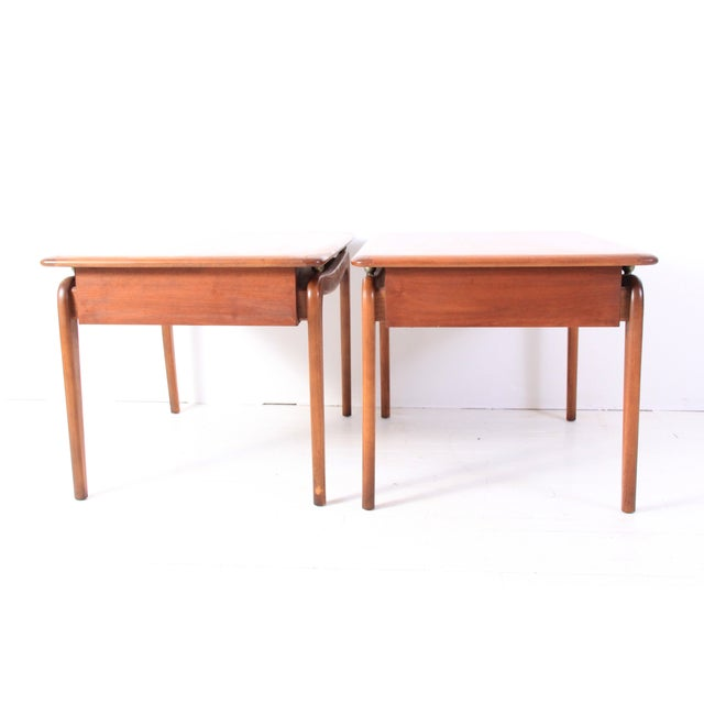 Vintage Lane Mid-Century Side Tables - a Pair - Image 10 of 10