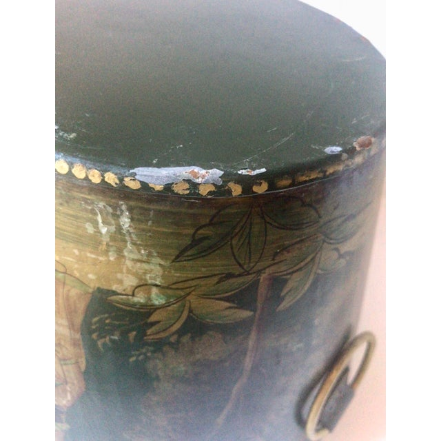Painted Tole Cachet-Pot For Sale In New York - Image 6 of 11