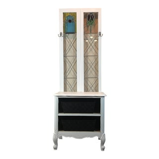 White Entryway Console For Sale