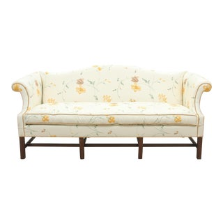 Chippendale Style Floral Settee