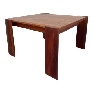 Mid 20th Century Danish Square Occasional or Center Table For Sale