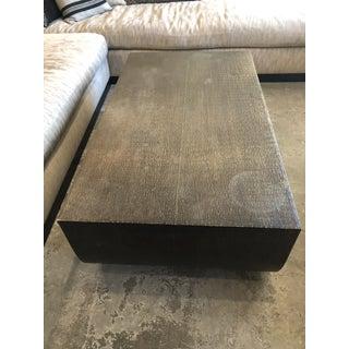 Brownstone Furniture Bijou Coffee Table, Metal Wrapped Wood Preview