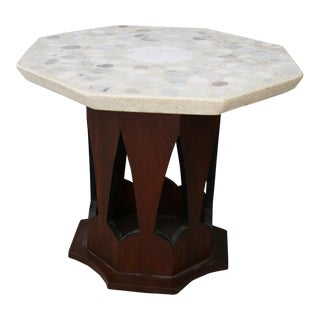 Harvey's Probber Coffee Table 1950 Top Terrazzo For Sale