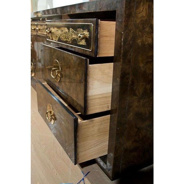 Mid-Century Nine Drawer Dresser by Mastercraft For Sale - Image 9 of 11