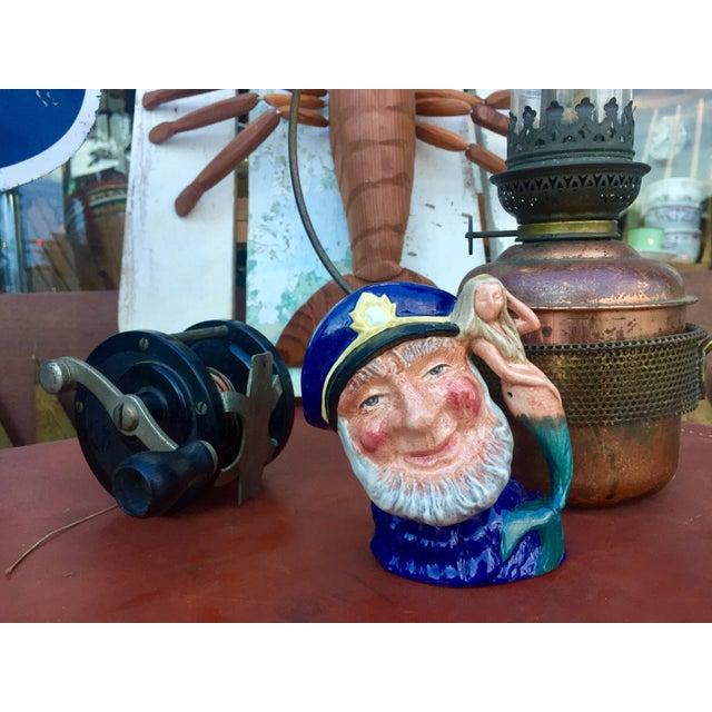 Royal Doulton Vintage Sea Captain & Mermaid Mug For Sale - Image 4 of 6