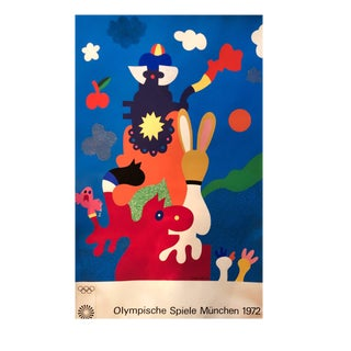 1972 Munich Olympic Games Print
