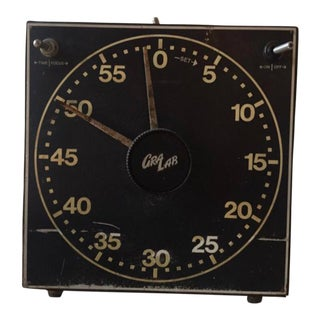 Gra Lab Vintage Dark Room Timer For Sale