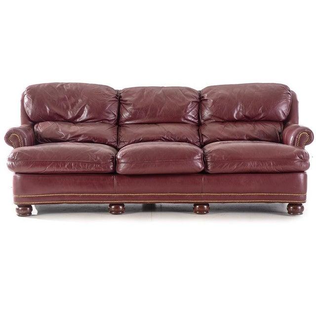 Pleasant 20Th Century Moroccan Hancock And Moore Leather Sofa Customarchery Wood Chair Design Ideas Customarcherynet