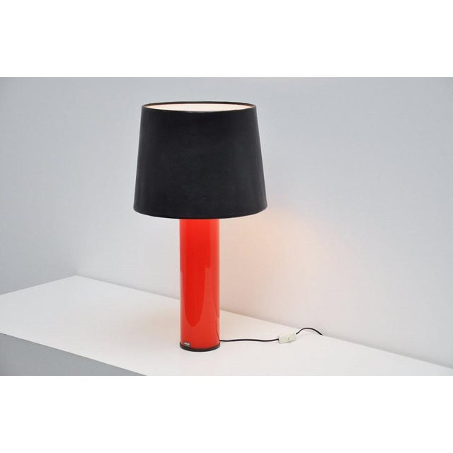 Uno Osten Kristiansson Luxus table lamp Sweden 1960 - Image 5 of 5