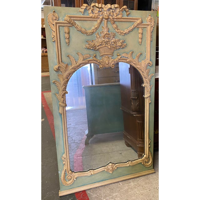 Maslow Freen New York Design Marble Top Dresser & Mirror For Sale - Image 11 of 13