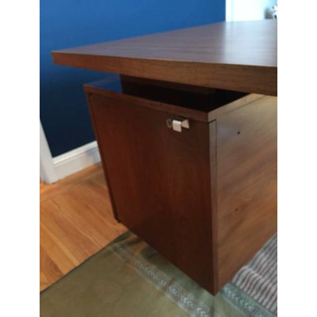 Metal Herman Miller / George Nelson Executive Office Group Desk For Sale - Image 7 of 11