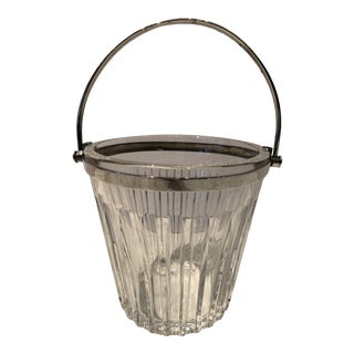 Baccarat Crystal Ice Bucket For Sale
