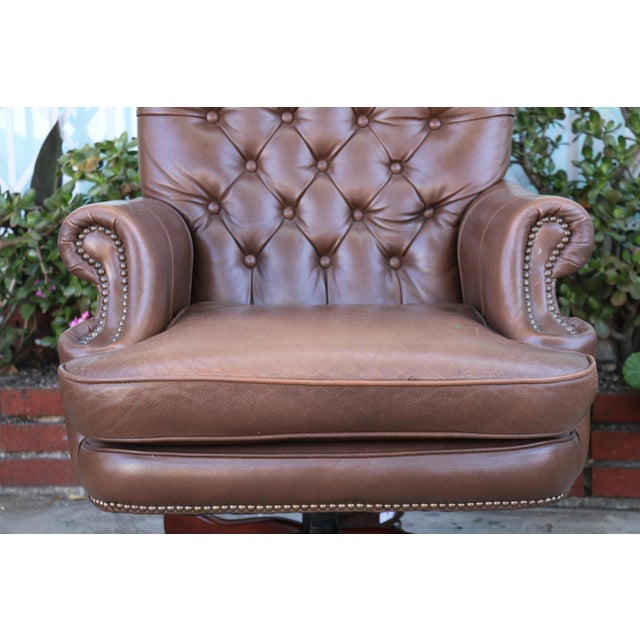 Awesome Bradington Young Executive Leather Chair Short Links Chair Design For Home Short Linksinfo