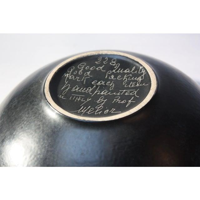 Mid Century Italian Modern Melior Enamel Bowl For Sale - Image 10 of 11
