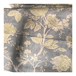 Colfax and Fowler Wyndham Linen Fabric -3 Yards For Sale