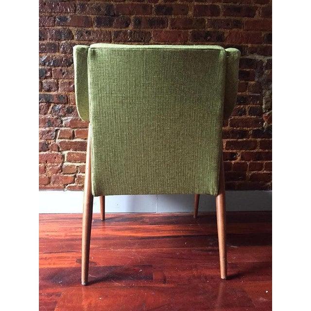 Mid-Century Danish Modern Oak Accent Chair - Image 5 of 5