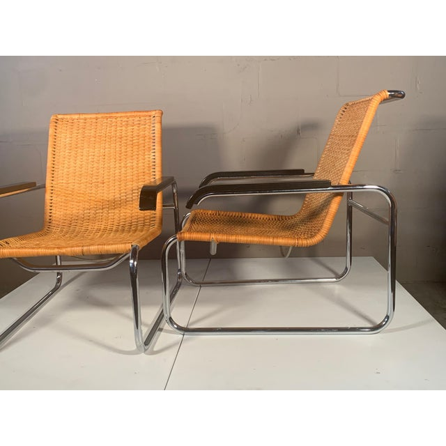 Thonet Classic Marcel Breuer B35 Chairs Icf - a Pair For Sale - Image 4 of 13