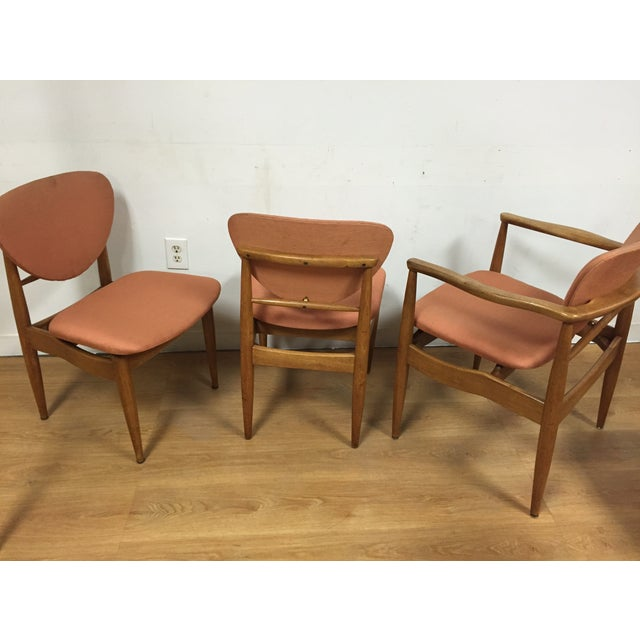 Finn Juhl Style Dining Chairs - Set of 6 For Sale - Image 11 of 11